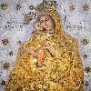 1819 - Виготовлена металева позолочена риза для Жировицької ікони